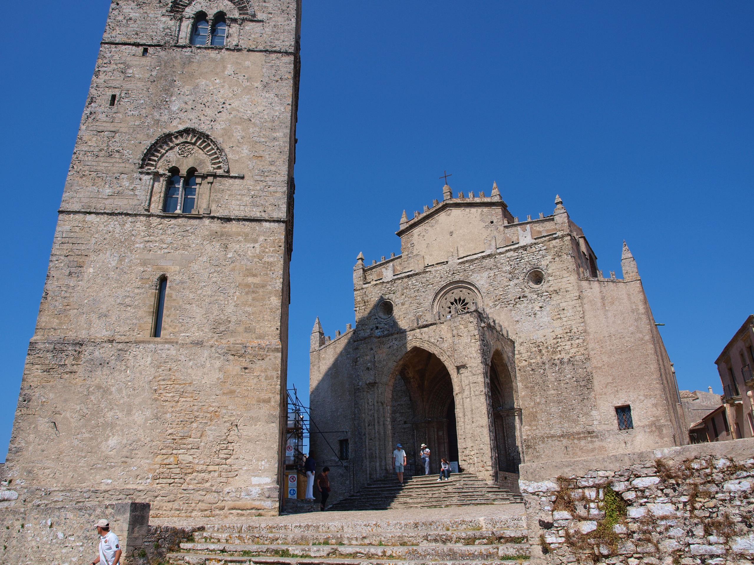 中世の街エリチェ観光
