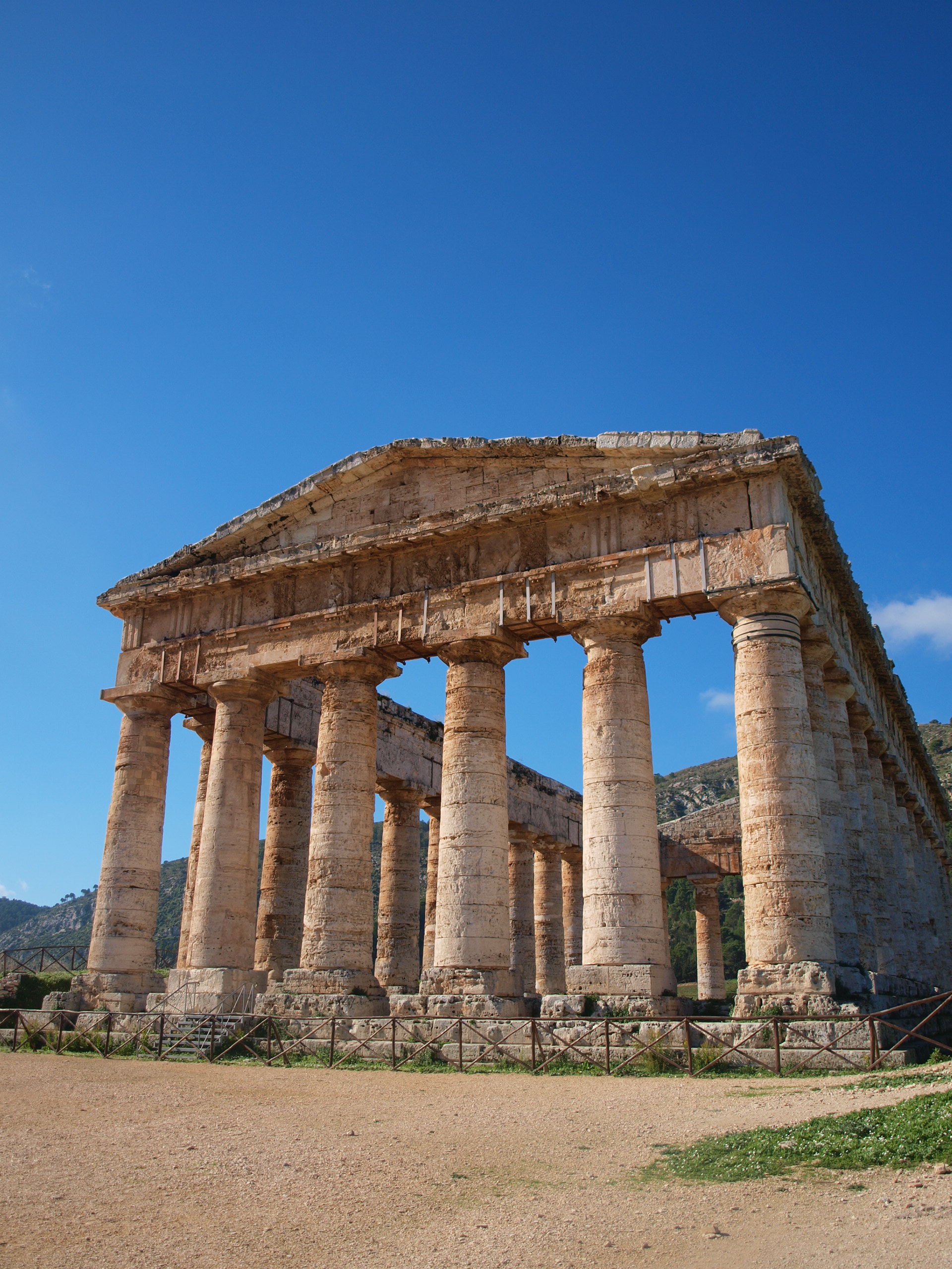 セジェスタの神殿